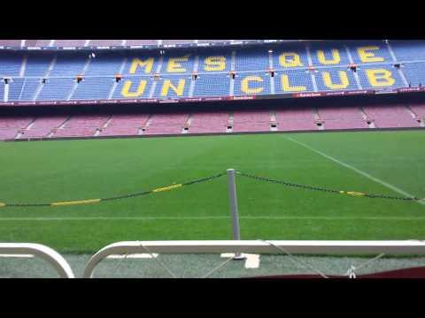 The Camp Nou- Home of FC Barcelona