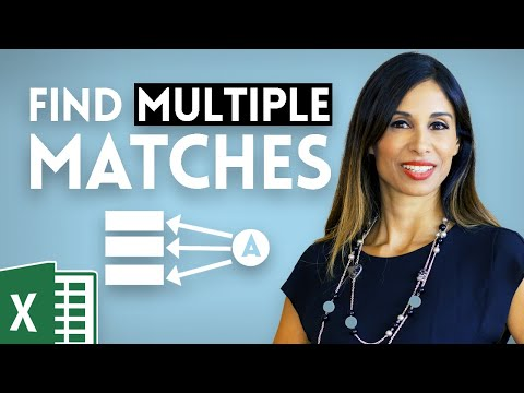 Return Multiple Match Results in Excel (2 methods)