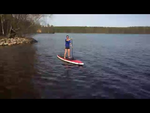 SIC Air-Glide X 12.6 (DSC) board and Eligo-SUP paddle