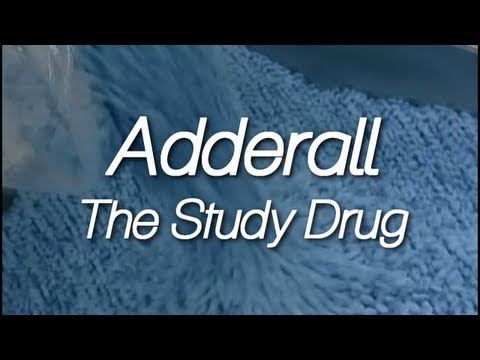 Adderall: The Study Drug