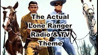 The Final Lone Ranger Radio & TV Theme