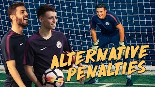 RABONA PENALTY! | Bernardo Silva v Phil Foden | Alternative Penalties
