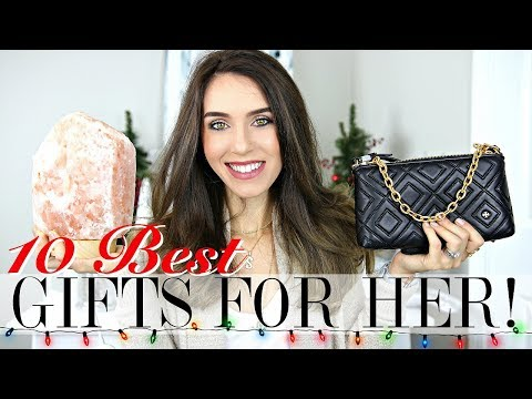 Top 10 BEST Christmas Gifts for HER   Holiday Gift Guide 2017
