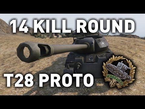 World of Tanks || T28 Prototype - 14 kills!?!