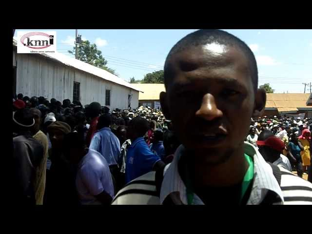 Live election update from Different Polling stations in Kibera.