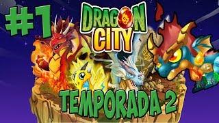 Dragon City T2 - Capitulo 1 - Empezamos con el Dragon Elementos