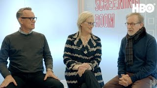 Steven Spielberg, Tom Hanks & Meryl Streep on The Post (2017 Movie) | HBO Screening Room