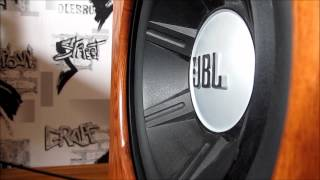 JBL GTO1014 subwoofer bass test