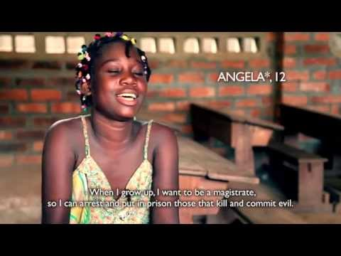 I want to be a magistrate - Central African Republic