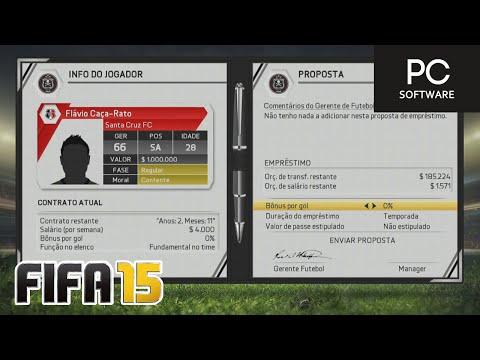 CR7 NO NOSSO TIME ??? - FIFA 15 - Modo Carreira Brasileirão #04 [PC]