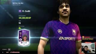 """Vodka Quang   Test nhanh 9 """"gói RUBY"""" siêu mới Fifa Online 4"""