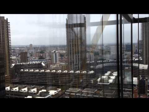Mitsubishi lift/elevator @ 88 Wood Street (office)