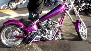 2003 American Iron Horse Texas Chopper sick paint!! Lots of mods.