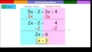 Solving Equation with variables on both sides of the equation