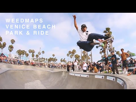 Weedmaps Venice Beach 'Park & Ride'