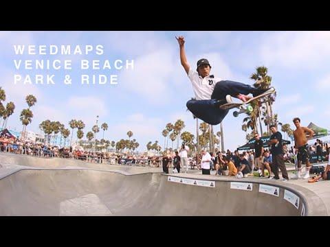 Weedmaps Venice Beach 'Park & Ride'
