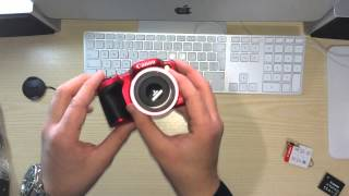Unboxing Canon sx 400 IS
