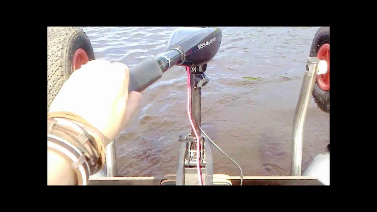 лодочные электромоторы ниссамаран