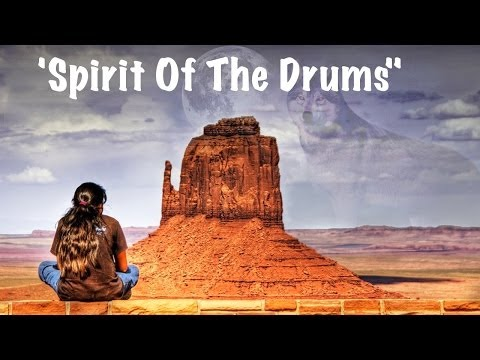 ♫ Native American Music -  'spirit Of The Drums'  ♥ American Indian Spiritual Relaxing Healing Music video