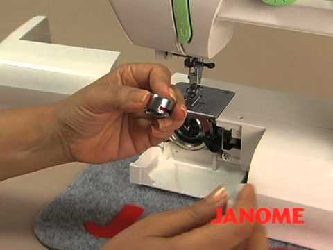 Janome, sewing machine, maquina de coser
