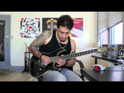 How To Play 'hail To The King' By Avenged Sevenfold Guitar Solo Lesson W tabs video