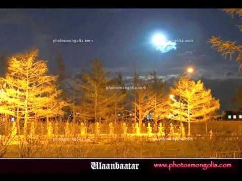 The Beautiful night of Ulaanbaatar