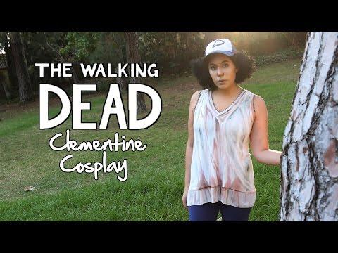Clementine - Walking Dead Cosplay - Diy video