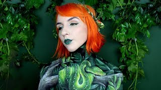 Green Tree Snake | Body Paint Timelapse