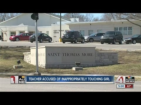 Teacher arrested for inappropriately touching female student