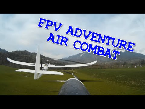 FPV ADVENTURE AIR COMBAT RC PLANES PURSUITS MODEL - DRONES FIRST PERSON VIEW RUNCAM