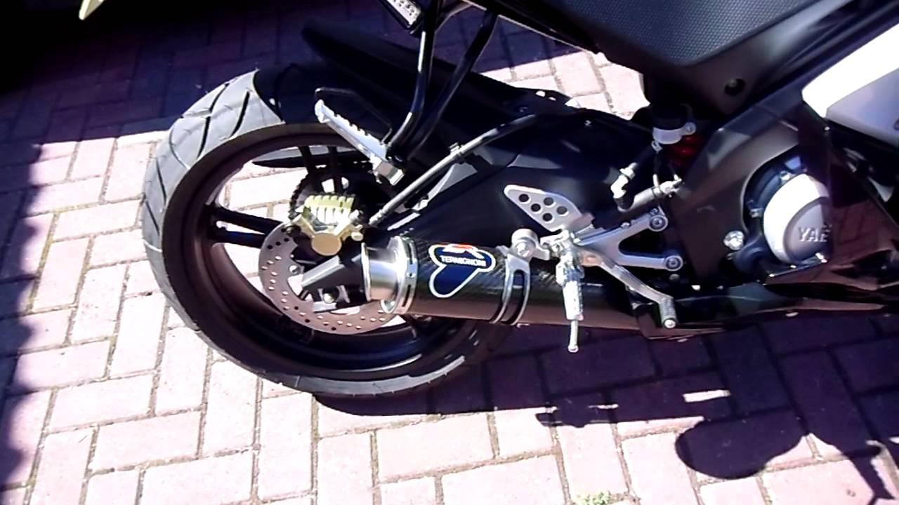 Yzf R125 Exhaust Yamaha Yzf R125 Termignoni