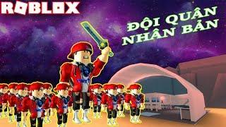Roblox | Xây Nhà Máy Nhân Bản Tiểu Vamy Đi Đánh Nhau | Clone Tycoon 2 | Vamy Trần