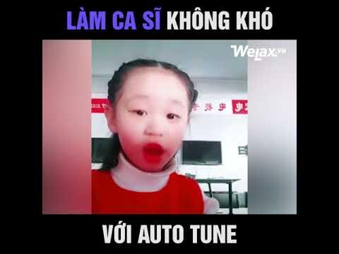 Làm ca sĩ không khó với Auto tune
