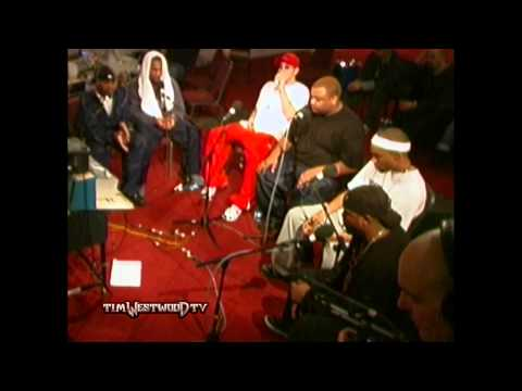 Westwood - Eminem & D-12 freestyle backstage in London 2001
