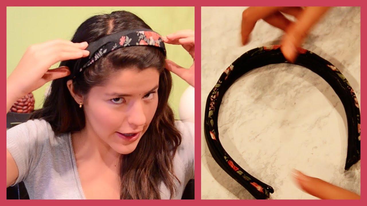 Haz tus propios accesorios diadema muy facil diy - Material para hacer diademas ...