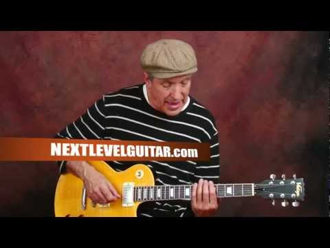 Rock n Roll Chuck Berry blues inspired Roll Over Beethoven song style guitar lesson