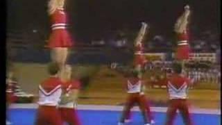 1984 University of Oklahoma Cheer Squad