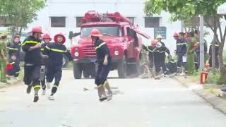 Kiểm tra nghiệp vụ PCCC: Đội hình chữa cháy cơ bản