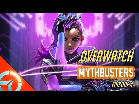 Overwatch Mythbusters Ep.4 | Tracer Pulse Bomb And Reinhardt Shield | Genji Dragon Blade & Deflect