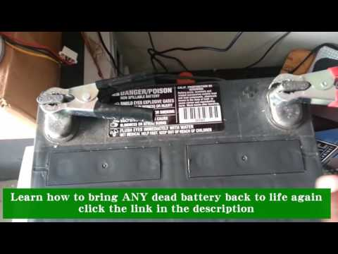 How to Bring ANY Dead Battery Back to Life Again