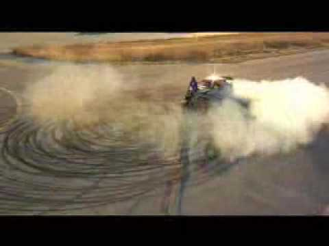 Ken Block - Cool Driving, Subaru Race Car!!, Drifting, Skiding the works!!, 2cm from man!!