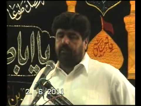 Zakir Amar Abbas Rabbani P 1 Majlis At Chanuot video