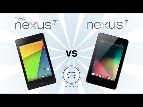 New Nexus 7 (2) vs Nexus 7