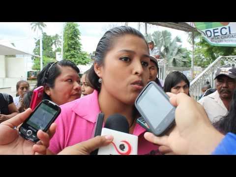 Poca respuesta en Tuxtepec, ante convocatoria para exigir aparición de normalistas