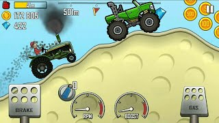 HILL CLIMB RACING 2 TRACTOR fully UPGRADED/Tractor wala game chahiye