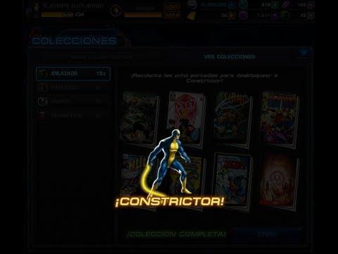 Trucos y Secreto Evitar Cajas Fuertes Repetidas en Marvel Avengers Alliance Reclutando Constrictor