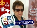 Depoimento da Sra. Maria de Queiroz