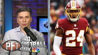 PFT Overtime: Josh Norman's beef with Dave Gettleman, changes to PI replay review
