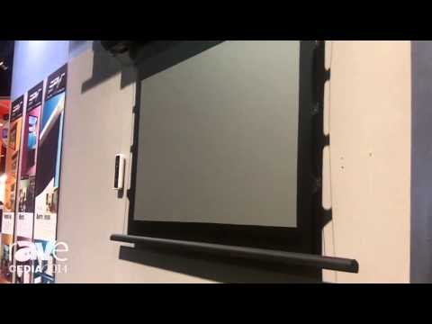 CEDIA 2014: Elite Screens Talks About PolarStar Ambient Light Rejecting Technology