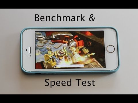 iPhone 5s vs iPhone 5c vs iPhone 5 Speed Test